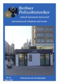 Der Berliner Polizeihistoriker 61